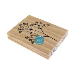 Tampon bois GRANDE TIGE par Florilèges Design. Scrapbooking et loisirs créatifs. Livraison rapide et cadeau dans chaque comma...