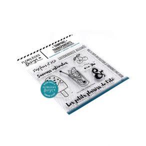 Tampons clear PARFUM D'ÉTÉ par Florilèges Design. Scrapbooking et loisirs créatifs. Livraison rapide et cadeau dans chaque co...