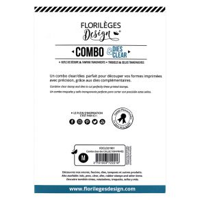PROMO de -40% sur Combo Clear Die COLLECTION PRIVÉE Florilèges Design