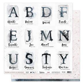 Papier imprimé SAKURA 4 par Florilèges Design. Scrapbooking et loisirs créatifs. Livraison rapide et cadeau dans chaque comma...
