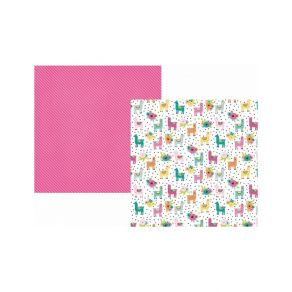 PROMO de -30% sur Papier imprimé Oh, Happy Day ! NO PROBLLAMA Simple Stories