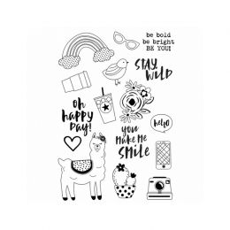 PROMO de -30% sur Tampons clear Oh, Happy day ! BE YOU ! Simple Stories