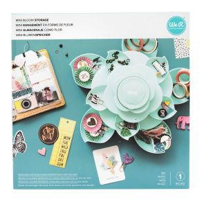 Mini fleur de rangement embellissements MINT par We R Memory Keepers. Scrapbooking et loisirs créatifs. Livraison rapide et c...