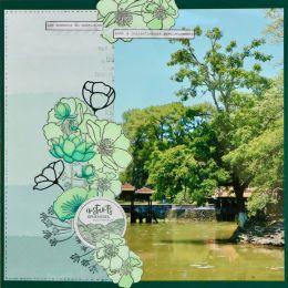 Tampon bois CHERRY BLOSSOM 2 par Florilèges Design. Scrapbooking et loisirs créatifs. Livraison rapide et cadeau dans chaque ...