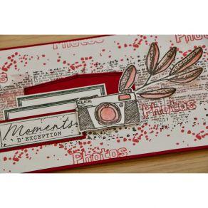 Tampons clear À TRAVERS CHAMPS par Florilèges Design. Scrapbooking et loisirs créatifs. Livraison rapide et cadeau dans chaqu...