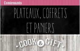 Plateaux, coffrets et paniers