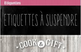 Etiquettes à suspendre