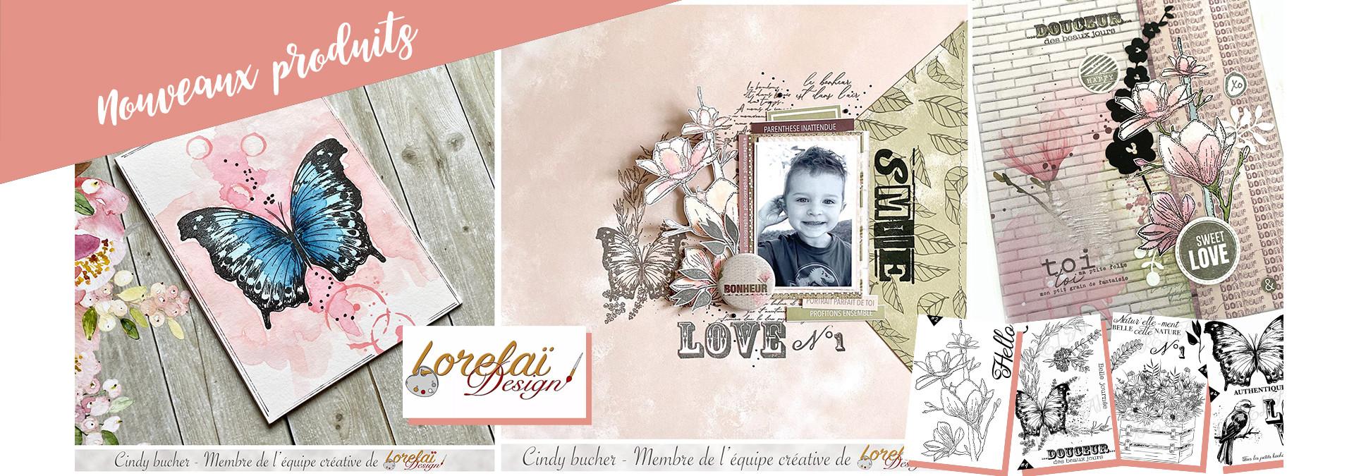 Nouveaux produits Lorelai Design