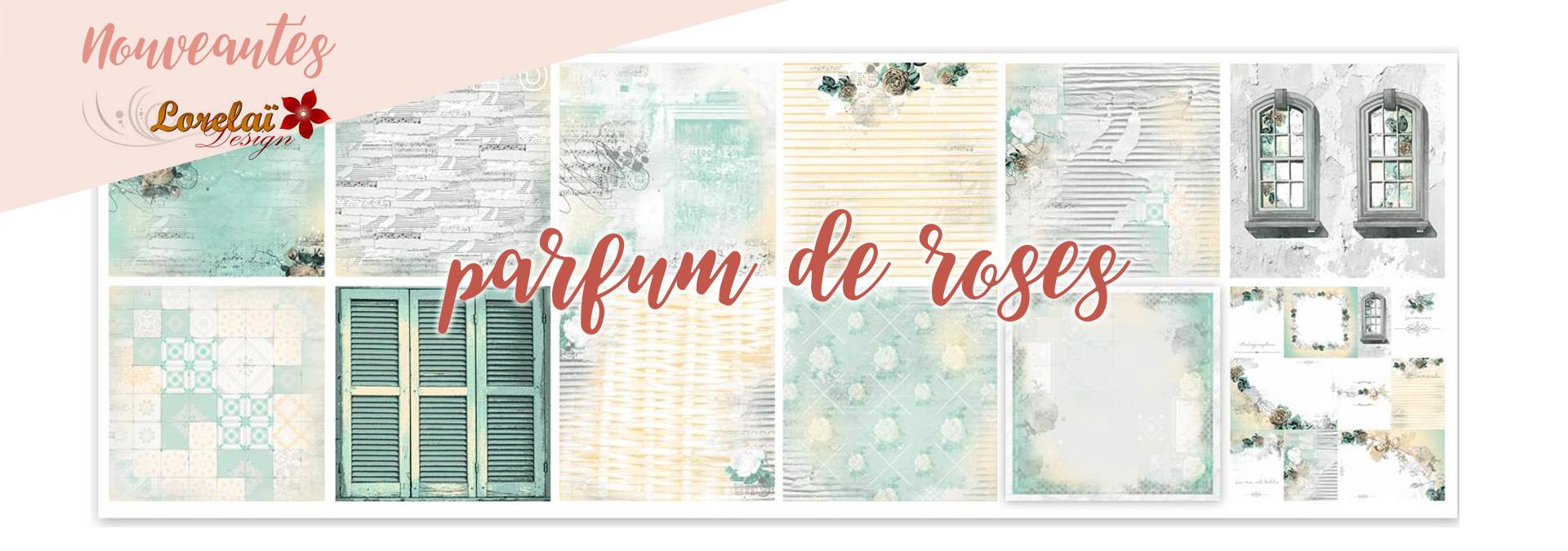 Parfum de roses - Lorelai design