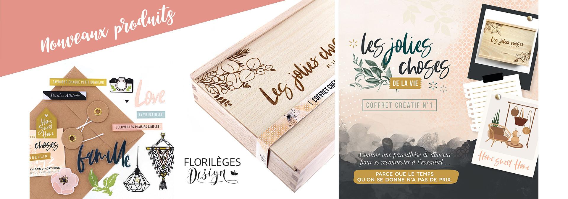 Nouveau coffret créatif Florilèges Design