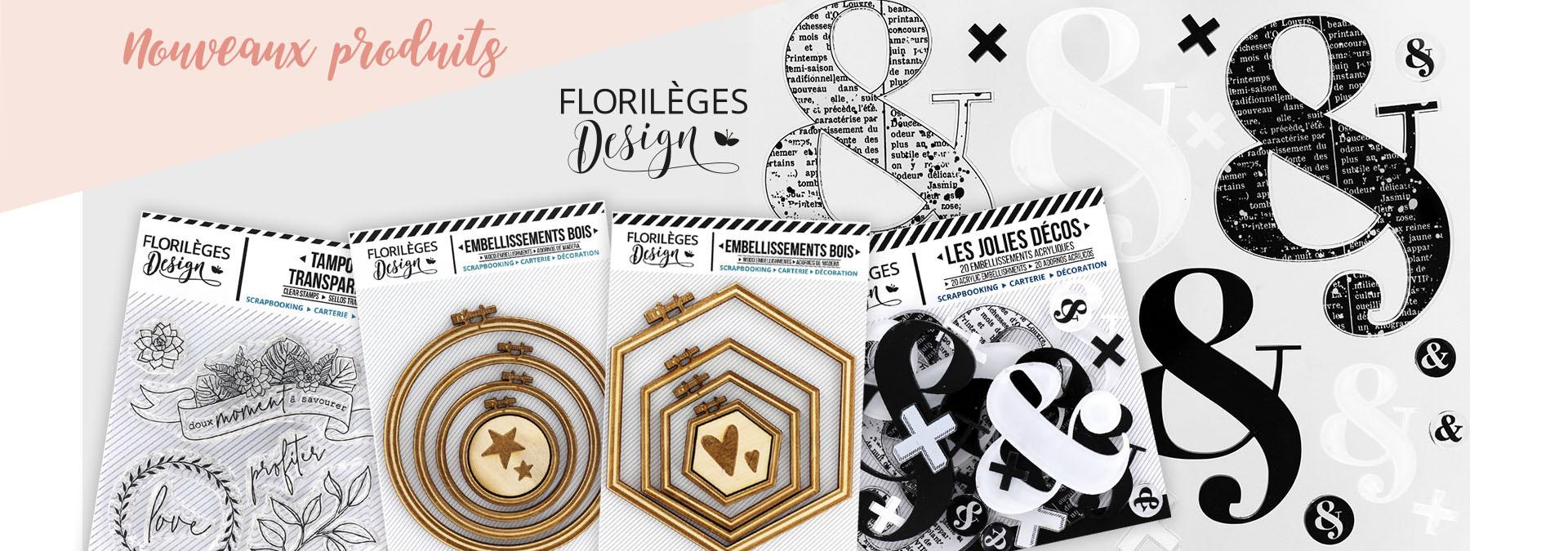 Nouveaux produits Florilges Design