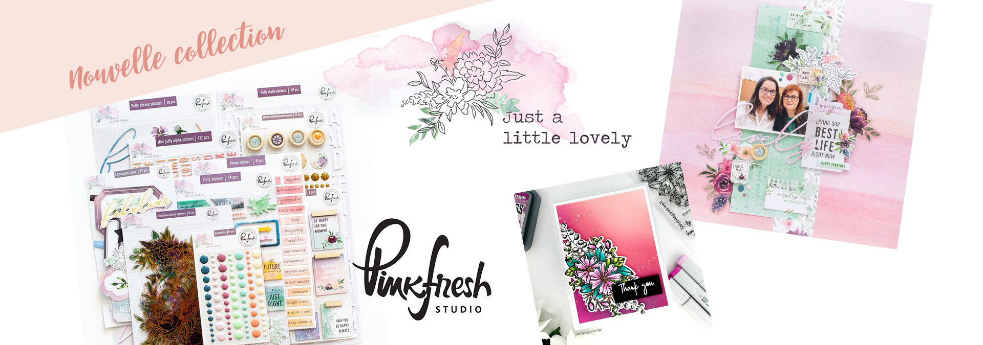 Nouvelle collection Pinkfresh Studio