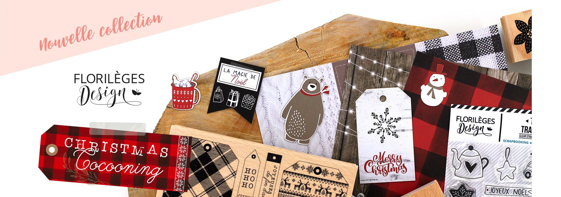 Nouvelle collection : Christmas cocooning de Florilèges Design