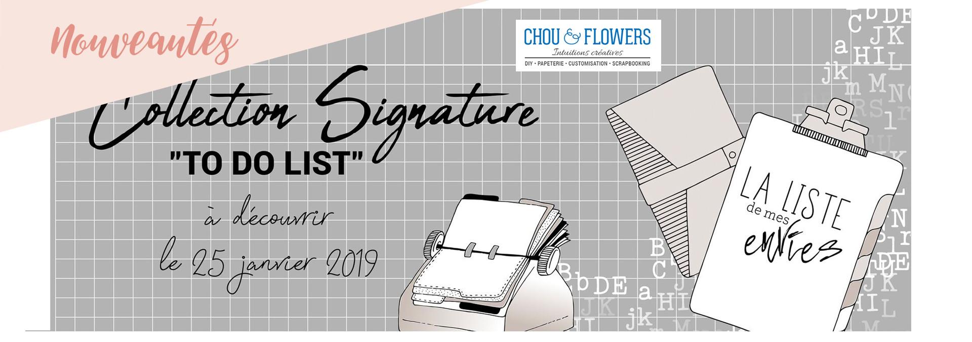 Nouveautés collection Chou & Flowers